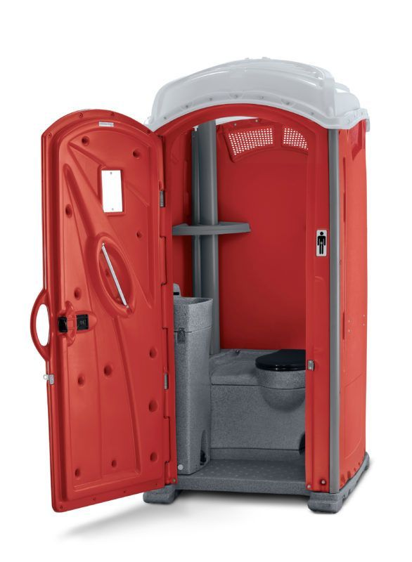 Deluxe portable bathroom